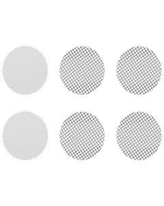 Ta komplet različnih majhnih mrežic vsebuje 4 grobe mrežice in 2 običajni mrežici, ki ustrezajo vaporizerjem Crafty in Mighty ter tudi nastavkom kapsul za odmerjanje