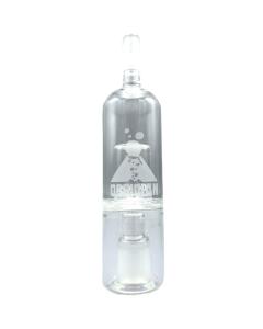 Steklena bučka Obsidian z znižanjem temperature in povečanjem vlažnosti zgladi paro za vdihavanje