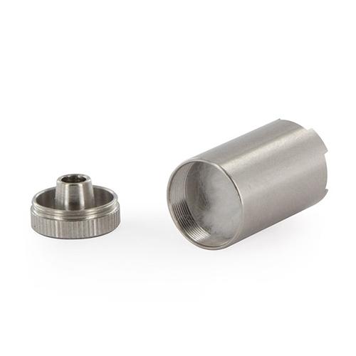 Kapsulo za koncentrate uporabite takrat, ko si s svojim vaporizerjem Flowermate želite vaporizirati voske in olja