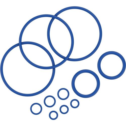 Komplet tesnilnih obročev vključuje 11 tesnilnih obročev različnih velikosti za vaporizer Mighty